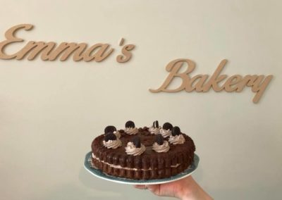Emma's Bakery in Latte Heart Coffee Cakes Schiedam
