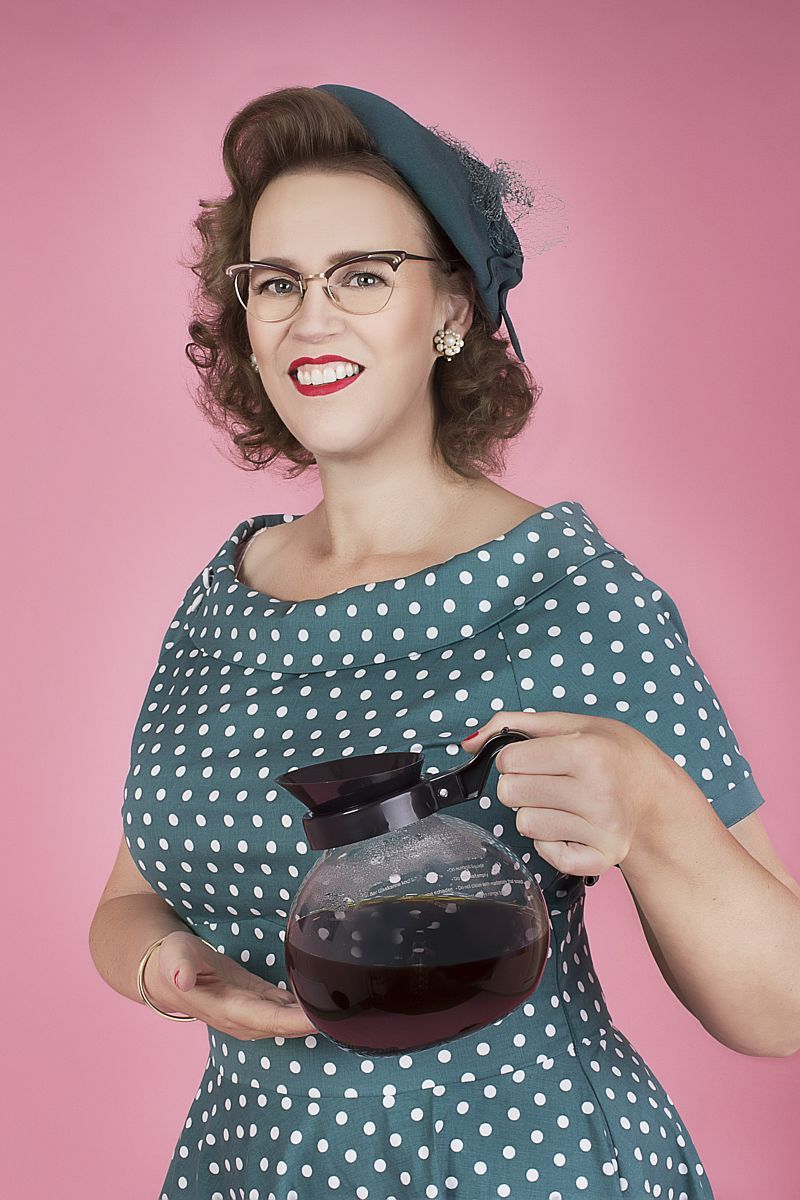 Barista Caroline Alink van Latte Heart Coffee & Cakes in Schiedam