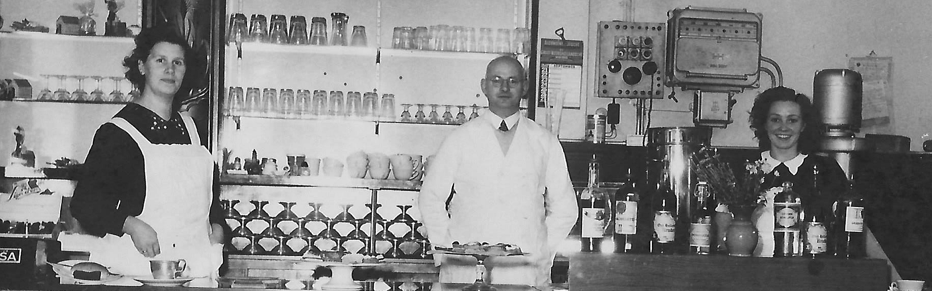 Lunchroom De Piet Hein 1947