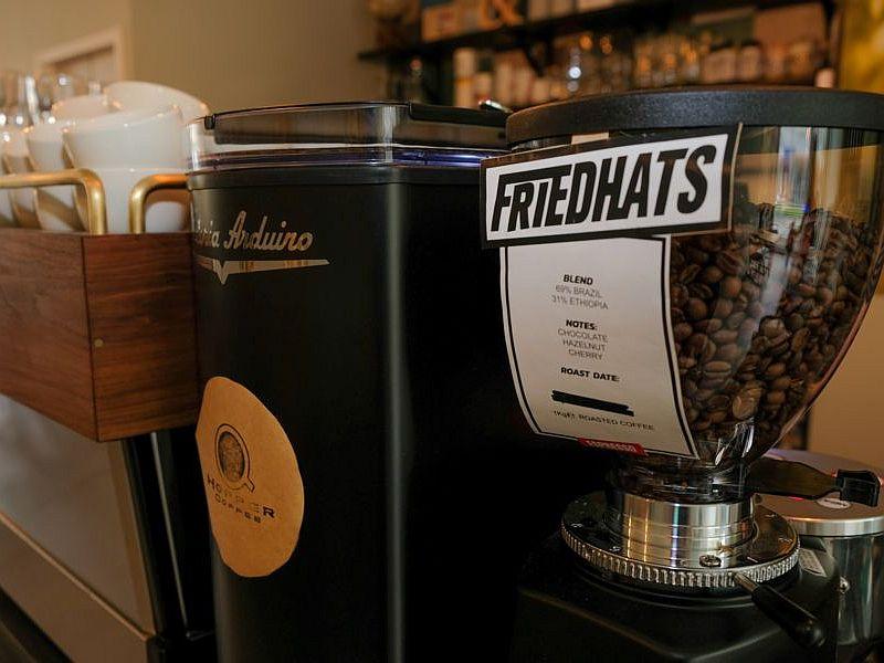 Verse koffie bij Latte Heart Coffee Cakes Schiedam