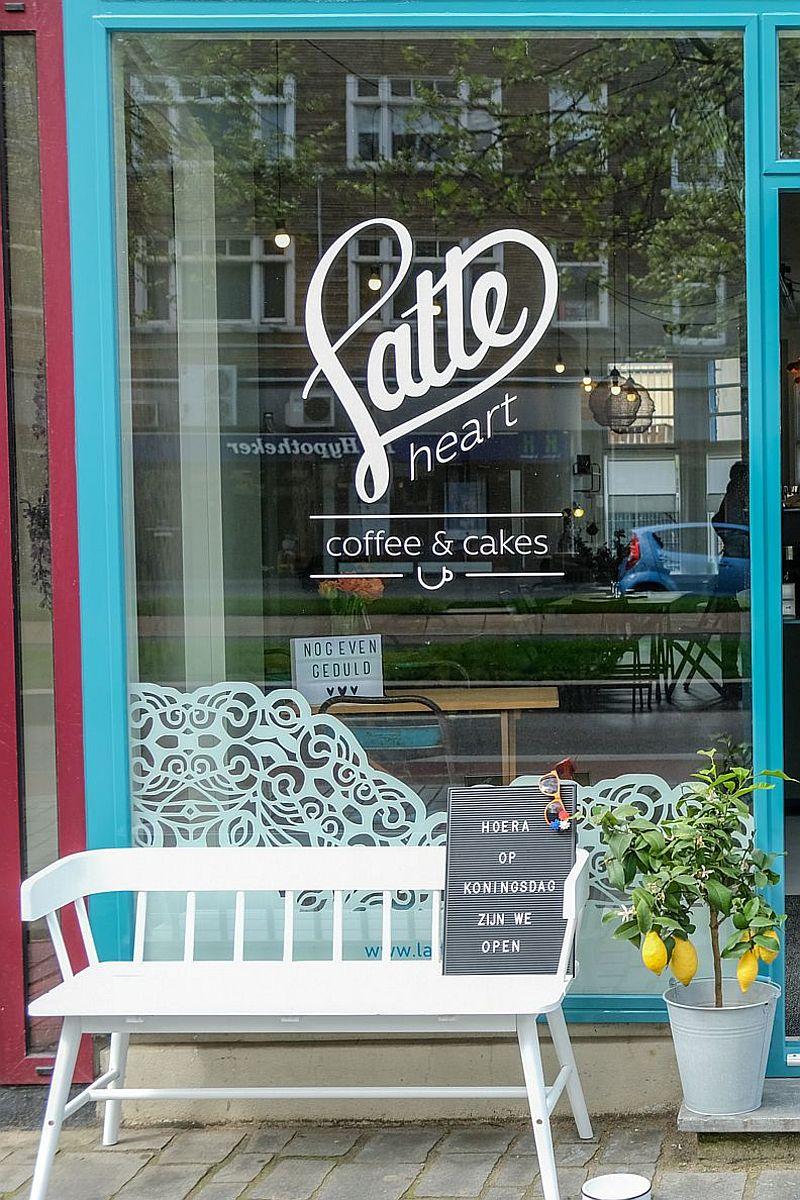 Latte Heart Coffee & Cakes Broersvest 95c 3111 ED Schiedam