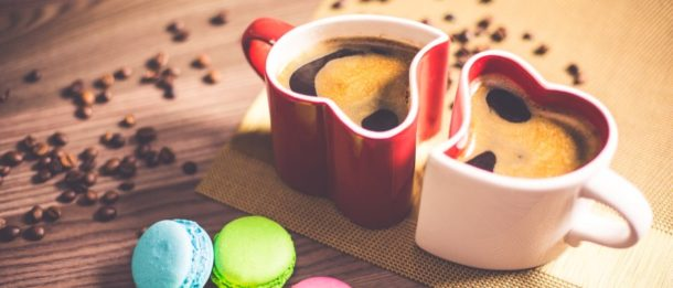 Latte Heart - koffie in hartvormige kopjes